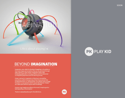 Imagination - Play Kid Ad