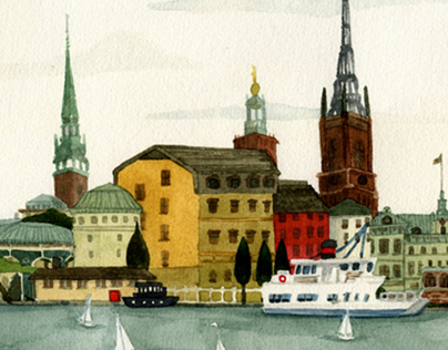 Stockholm- Town & Country