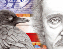 Quoth the raven, Nevermore. (pure illustration)