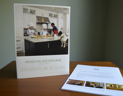 Folder and Banner for Wood Palace Kitchens