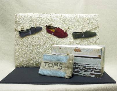 TOMS Shoes Branding Display