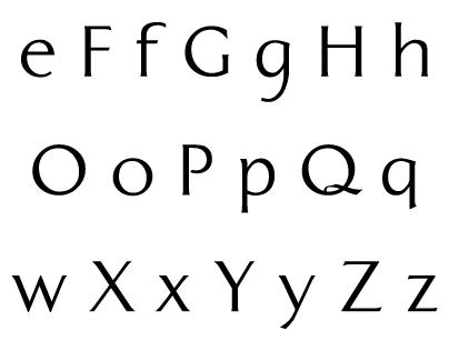 panogram typeface