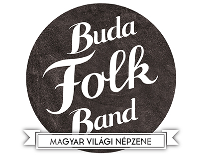 BudaFolkBand logo, demo CD cover