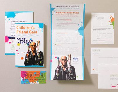 GEF Childrens Friend Gala Materials