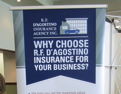 Insurance Company's Banner and Billboard