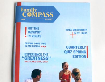 Magazine Design: Family Compass