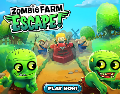 Zombie Farm Escape Concept Art