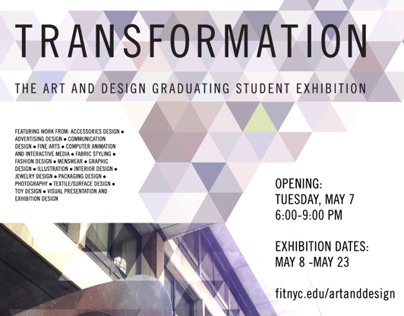 FIT - Graduating Show Invitation 2014