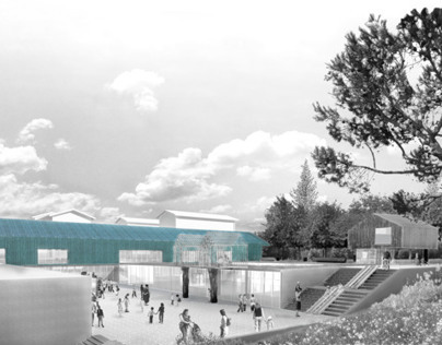 """New elementary school, Arbon, Switzerland"" by CB-A"