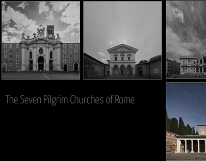 The seven pilgrim churches