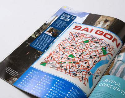 Saigon Map