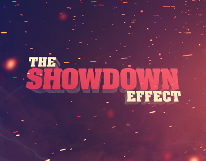 Showdown Effect