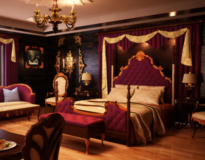 Interiors: Classic Themed Room