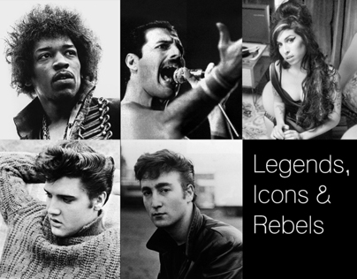 Legends, Icons & Rebels