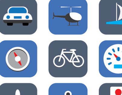 Transport Icons Set 2