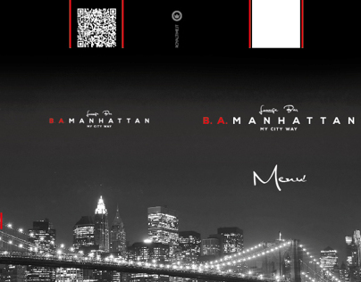 B.A. Manhattans menu
