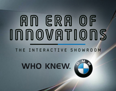 BMW Interactive Dealership Showroom