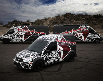 Sound Lab Car Wrap Design