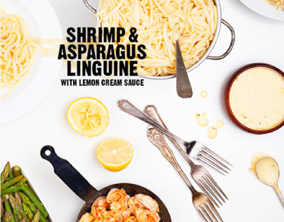 FOOD: Shrimp Linguine
