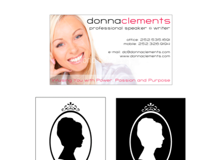 Professional Speaker Business Card