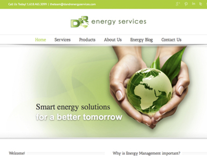 D&R Energy Services Website
