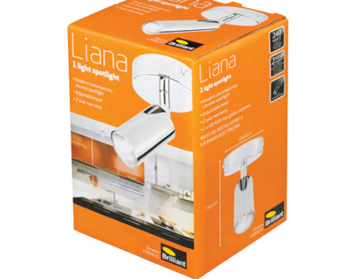 Liana Packaging Design