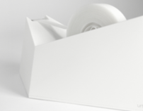 Folded Paper | Tape Dispenser