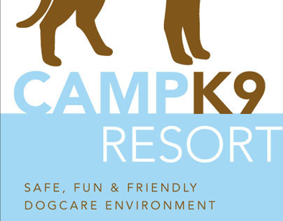 Camp K9 Resort Logo Development