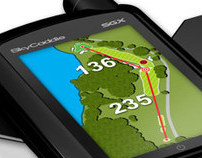 2011 - SKYCADDIE SGX - - - GRAPHIC USER INTERFACE