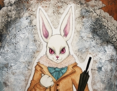 Alice Series: The White Rabbit