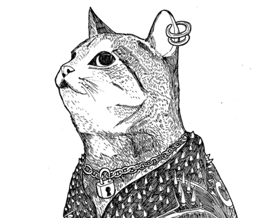 The Punx Cat for Fauves