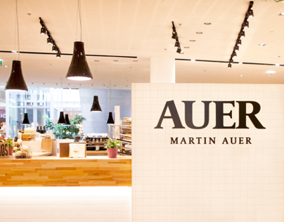 Retail Lighting, AUER bakery - Graz, Austria
