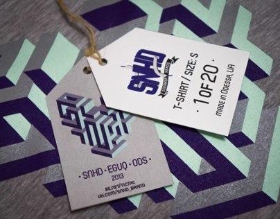 SNHD T-shirt by EGUQ