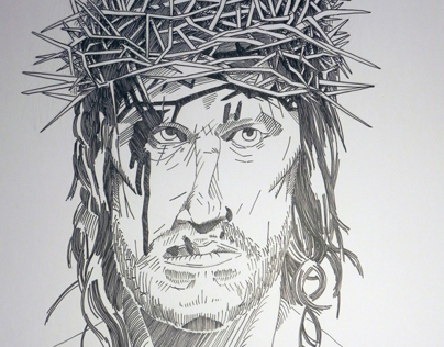 Christ / Last Temptation Of Christ portraiture