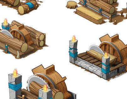 Godsrule - Building Levels