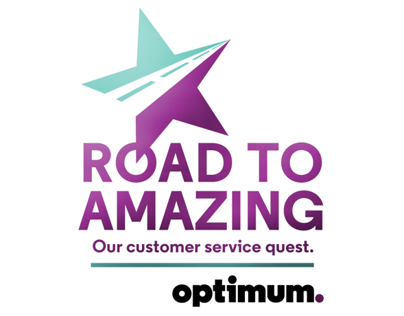 Optimum Customer Service Internal Logo Exploratory