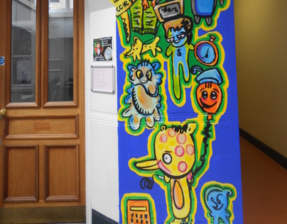 Tower Hamlets college Mural Project