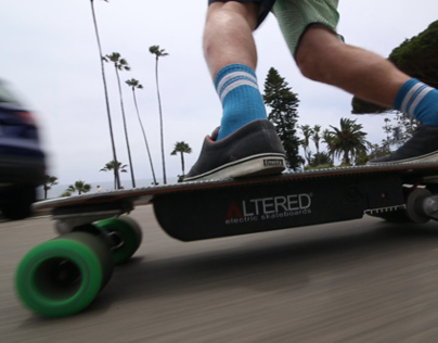 Altered Electric Skateboards