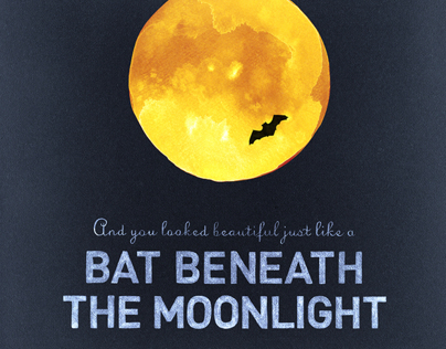 Bat Beneath the Moonlight for Andrew McMahon