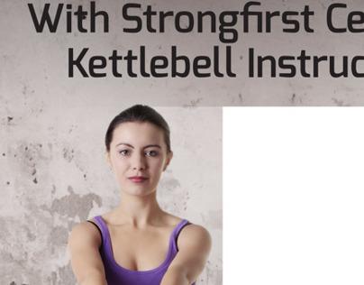 Kettlebell Class Signage