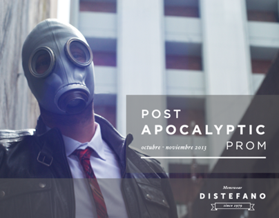 "Lookbook Distefano ""Post Apocalyptic Prom"""