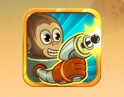 "iOS game ""Monkey Story"""