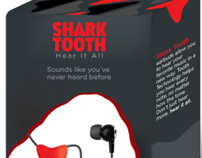 Shark Tooth Headphones