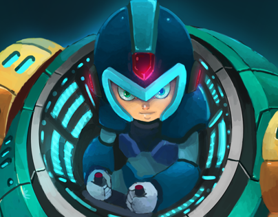 Megaman Tribute Project: Ride Armor