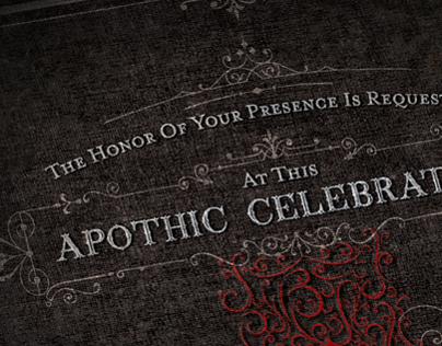 Apothic Invitation