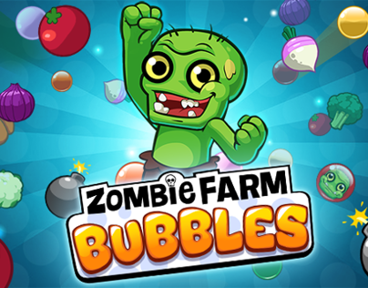 Zombie Farm Bubbles