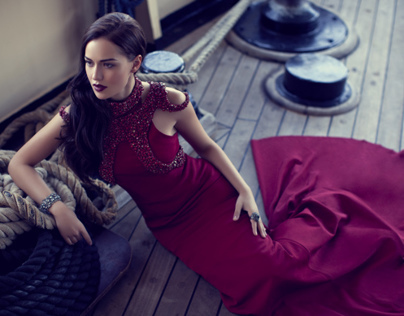 Fahriye Evcen for InStyle