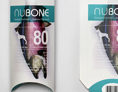 NuBone - Nutrient Supplements Packaging