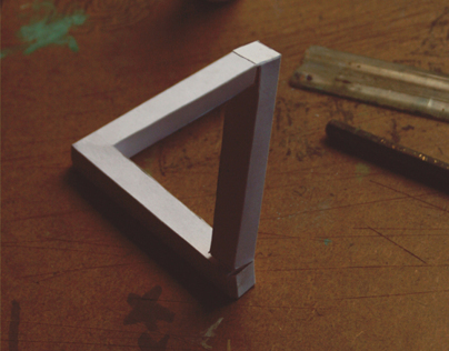Making a Penrose Triangle