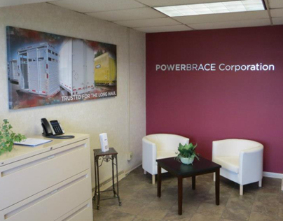 Powerbrace Corporation® Lobby